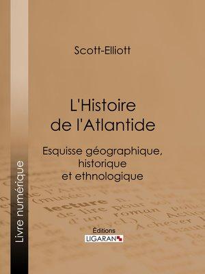 cover image of L'Histoire de l'Atlantide