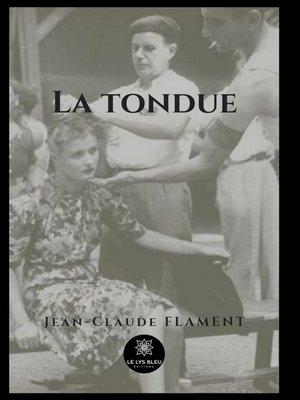 cover image of La tondue
