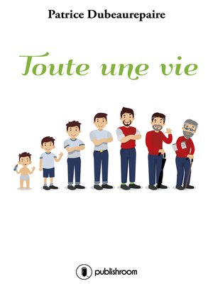 cover image of Toute une vie