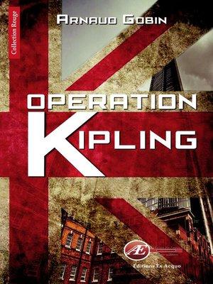 cover image of Opération Kipling