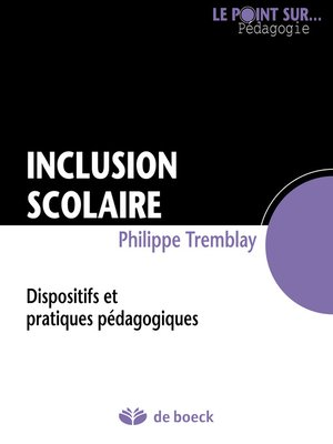 cover image of Inclusion scolaire