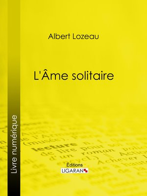 cover image of Âme solitaire