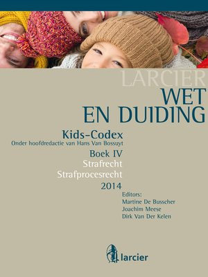 cover image of Wet & Duiding Kids-Codex Boek IV