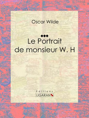 cover image of Le Portrait de monsieur W. H
