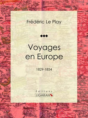 cover image of Voyages en Europe