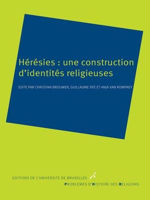 cover image of Hérésies