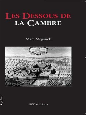 cover image of Les dessous de la Cambre