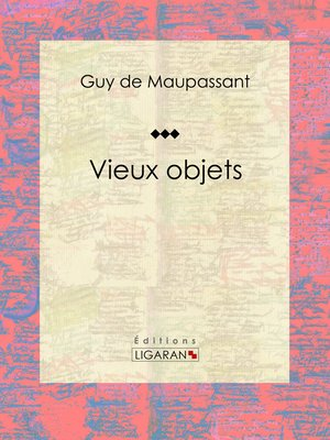 cover image of Vieux objets