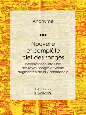 cover image of Nouvelle et complète clef des songes