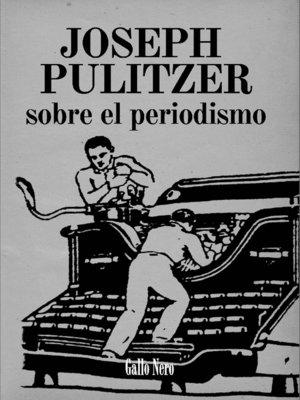 cover image of Sobre el periodismo