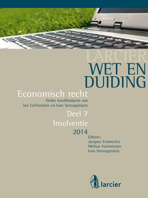 cover image of Wet en Duiding Insolventie