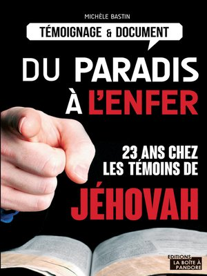 cover image of Du paradis à l'enfer