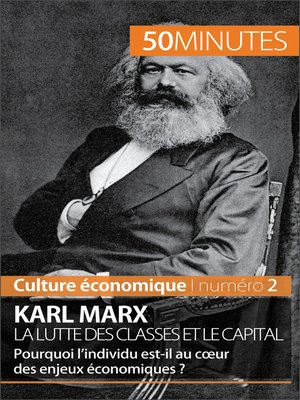 cover image of Karl Marx, la lutte des classes et le capital