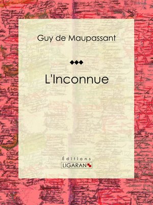 cover image of L'Inconnue