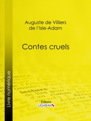 cover image of Contes cruels