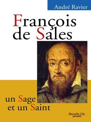 cover image of François de Sales, un sage et un saint