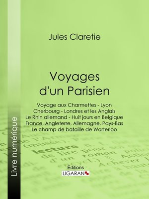 cover image of Voyages d'un Parisien