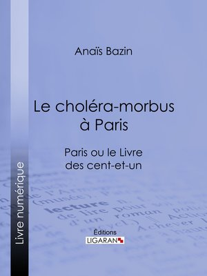 cover image of Le choléra-morbus à Paris