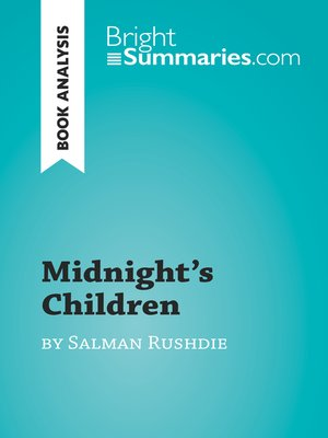 cover image of Midnight's Children by Salman Rushdie (Book Analysis)
