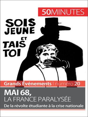 cover image of Mai 68, la France paralysée