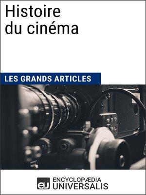 cover image of Histoire du cinéma