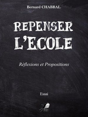 cover image of Repenser l'Ecole