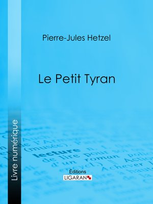 cover image of Le Petit tyran