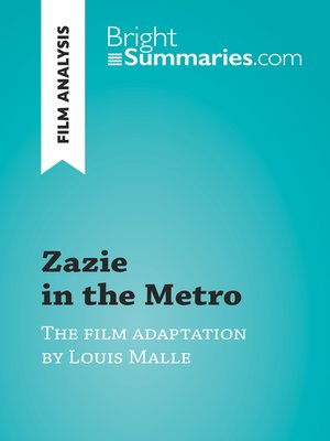 cover image of Zazie in the Metro by Louis Malle (Film Analysis)