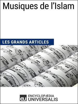 cover image of Musiques de l'Islam