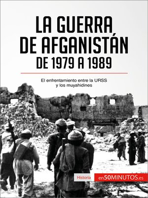 cover image of La guerra de Afganistán de 1979 a 1989