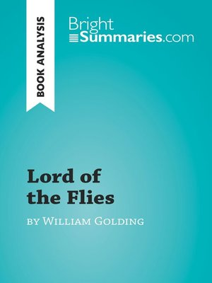 cover image of Lord of the Flies by William Golding (Book Analysis)
