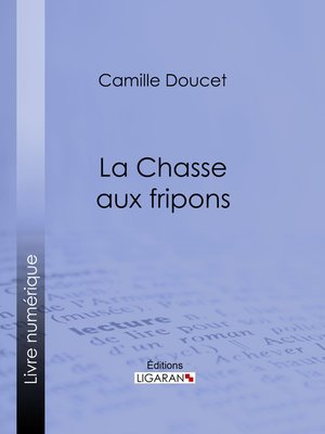 cover image of La Chasse aux fripons