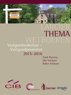 cover image of Vastgoedmakelaar--Vastgoedpromotor