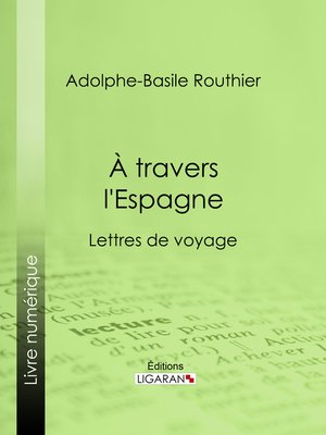 cover image of A travers l'Espagne