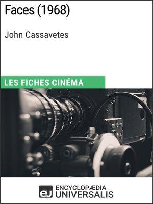 cover image of Faces de John Cassavetes