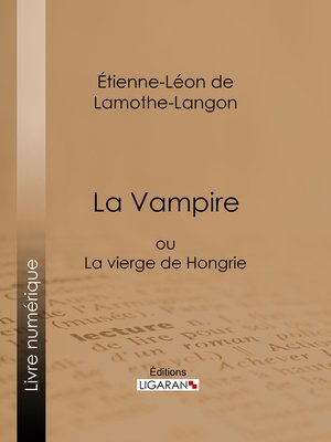 cover image of La Vampire