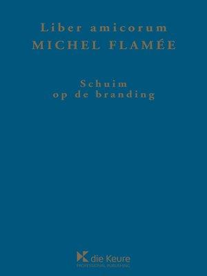 cover image of Schuim op de branding