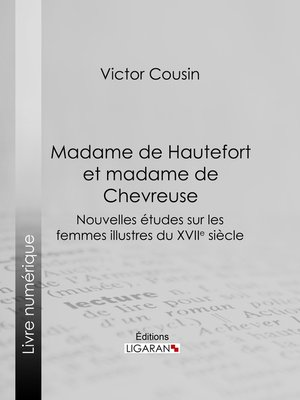 cover image of Madame de Hautefort et madame de Chevreuse
