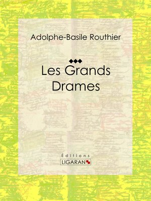 cover image of Les Grands Drames