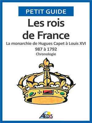 cover image of Les rois de France
