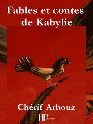 cover image of Fables et contes de Kabylie