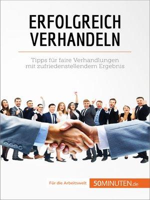 cover image of Erfoglreich verhandeln