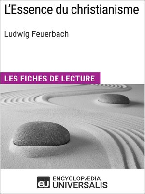 cover image of L'Essence du christianisme de Ludwig Feuerbach