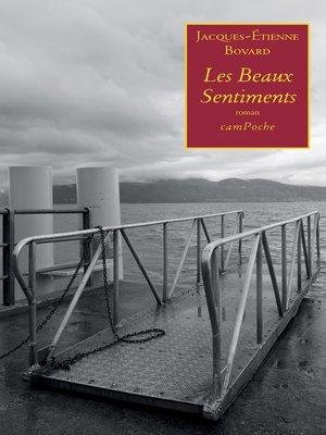 cover image of Les Beaux Sentiments