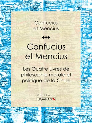 cover image of Confucius et Mencius
