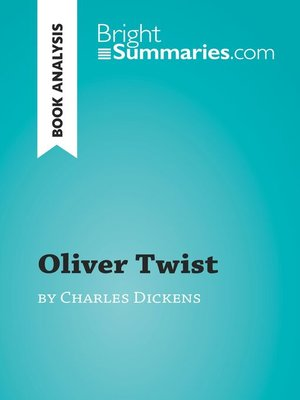 cover image of Oliver Twist by Charles Dickens (Book Analysis)