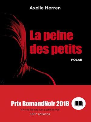 cover image of La peine des petits