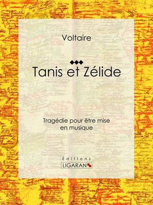 cover image of Tanis et Zélide