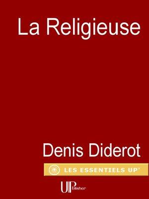 cover image of La Religieuse