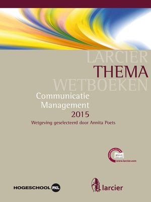cover image of Communicatiemanagement